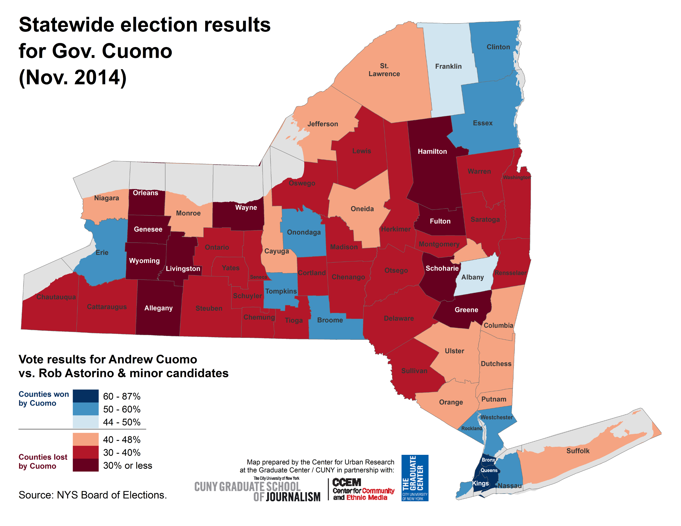 NYC Election Atlas Maps - 2016 election results us map by county