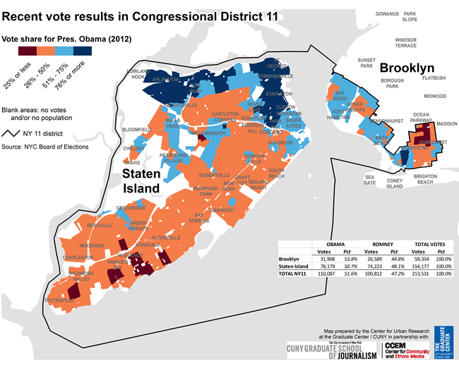 NYC Election Atlas Maps - 1st us rep district ny map