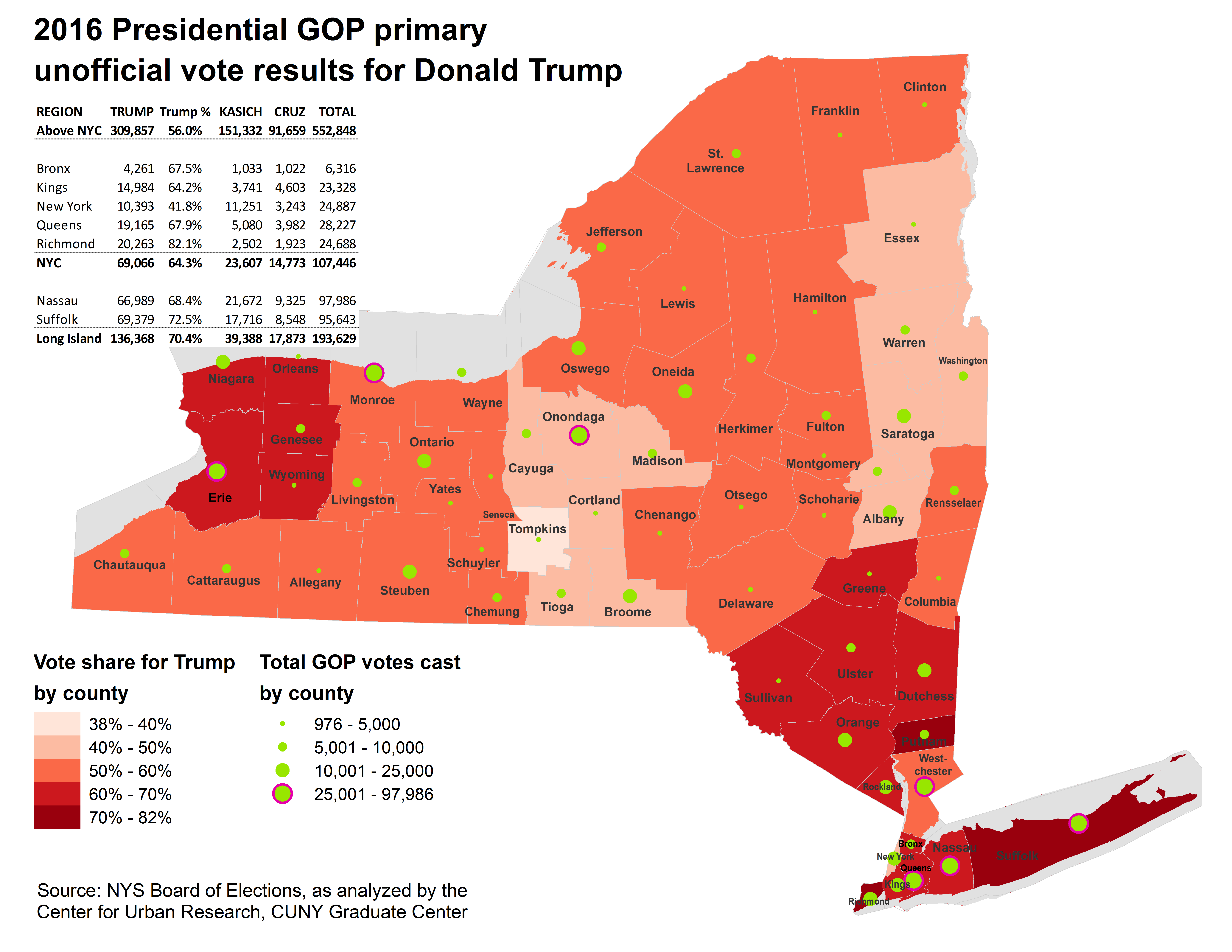 2016 Electoral State Map.Nyc Election Atlas Maps