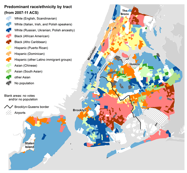 Map Of New York Neighborhoods Manhattan.Nyc Election Atlas Maps